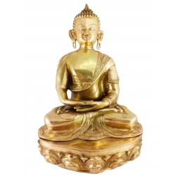 Great polished golden Buddha 15 kg