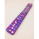 Lac Incense Holder, violet with little flowers