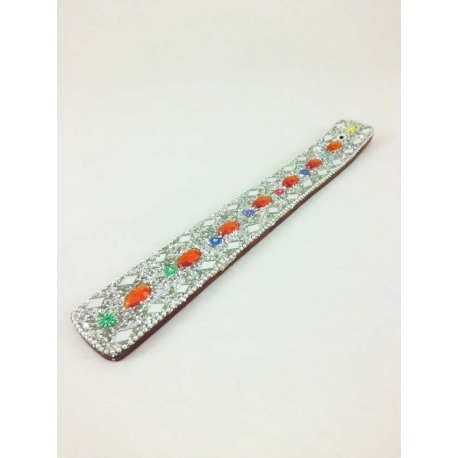 Lac Incense Holder, shiny white