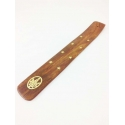 Wooden Incense Holder. Leaf