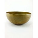 Buddha engraved singing bowl from Nepal 1100-1200 gr